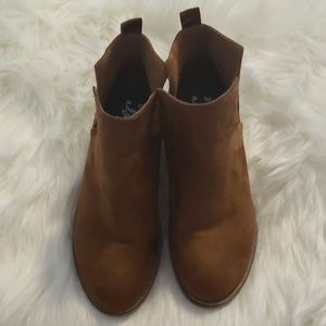 Loved JGoods brown anklet boots